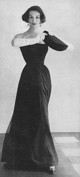 September Vogue 1956   photo by Horst P Horst