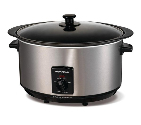 48705 Sear and Stew Slow Cooker - Stainless Steel