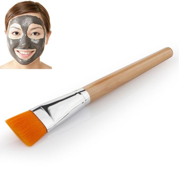 Pro Griff Gesicht Gesichtspflege Mud Masken Weiche Applikator Mischen DIY Pinsel Neue