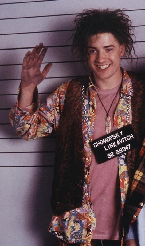 Brendan Fraser as Encino Man