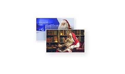 Create a Santa Video Message | Portable North Pole