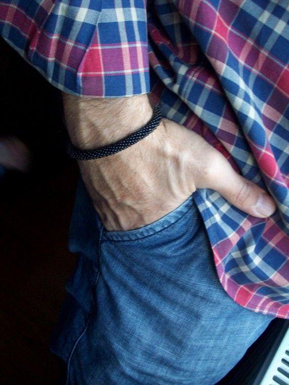 https://www.etsy.com/listing/60409479/glass-bead-bracelet-for-men