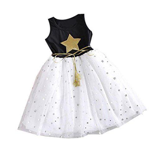Robe pour bébé, Transer Enfants mignons fille 1-11 ans fleur princesse robe fête mariage Tulle robes Tutu: Genre: Filles Matière: Coton…