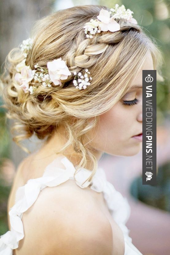 Nice! - pretty! | CHECK OUT MORE GREAT WEDDING HAIRSTYLES AND WEDDING HAIRSTYLE PICS AT WEDDINGPINS.NET | #weddings #hair #weddinghair #weddinghairstyles #hairstyles #events #forweddings #iloveweddings #romance #beauty #planners #fashion #weddingphotos #weddingpictures