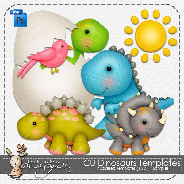 OWN - CU Dinosaurs Templates