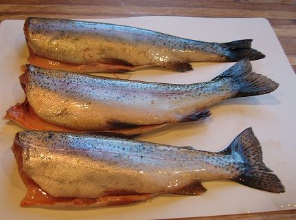 How to Clean Fresh-Caught Trout - Grilled Trout Recipe