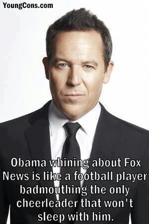 I see people on pinterest saying stuff about Fox news, when it has been Proven they are the only ones that will cover anything bad about obama.  Don't hate the news, how about hating the one giving them the ammunition.