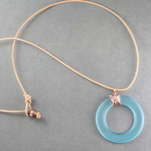 """Pretty.. from """"BottleHood"""" Jewelry made from repurposed liquor, wine, and soda bottles."""