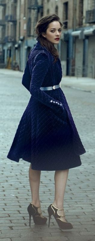 Classic Confidence, Character, Individuality, Beauty & Romantic Whimsy ♥   'ARgENTUM LOVER ~ Pin to Win MAY 14'  Marion Cotillard ♥