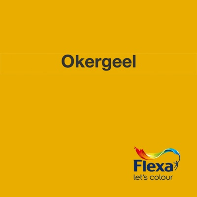 Collectie: Strak in de Lak Kleur: Okergeel