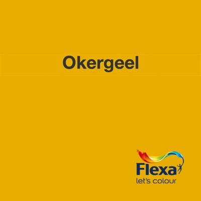 Collectie: Strak in de Lak Kleur: Okergeel URL: http://www.flexa.nl/nl/kleur/okergeel/
