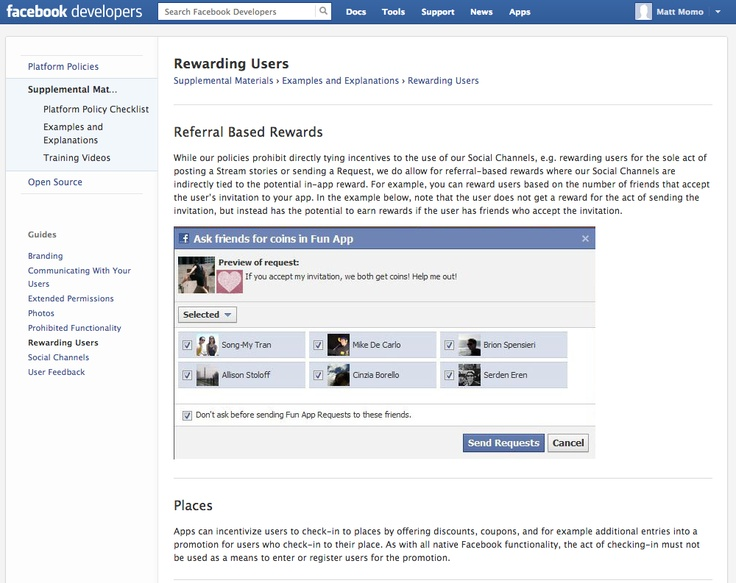 Facebook Rewarding Users   Referral Based Rewards & Like Button - Rewarding Fans