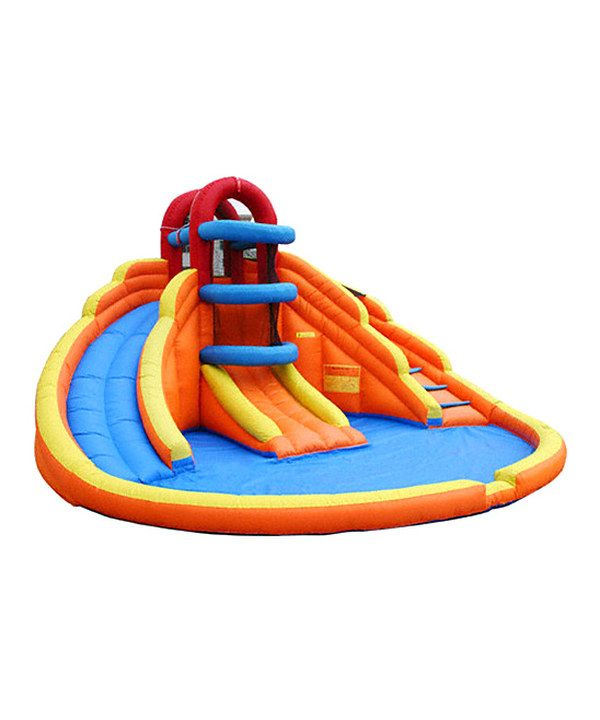 On This Product Details Page, You Can Find Comprehensive And Discount Big  Blue Lagoon Water Slide For Sale.