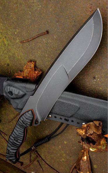 Torbe Custom Fixed Knife Blade @aegisgears