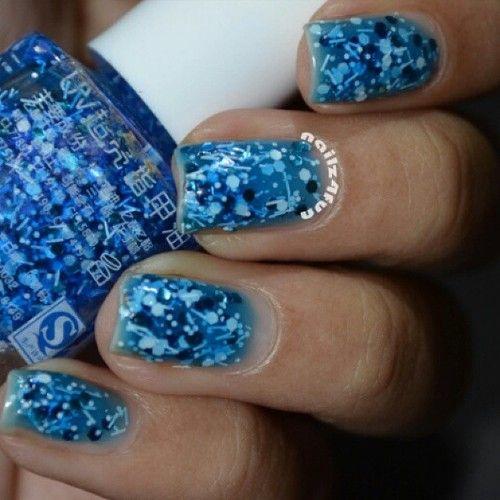 http://decoraciondeunas.com.mx/post/103155277317/i-got-this-in-a-mini-haul-last-week-it-is-a-blue | #moda, #fashion, #nails, #like, #uñas, #trend, #style, #nice, #chic, #girls, #nailart, #inspiration, #art, #pretty, #cute, uñas decoradas, estilos de uñas, uñas de gel, uñas postizas, #gelish, #barniz, esmalte para uñas, modelos de uñas, uñas decoradas, decoracion de uñas, uñas pintadas, barniz para uñas, manicure, #glitter, gel nails, fashion nails, beautiful nails, #stylish, nail styles