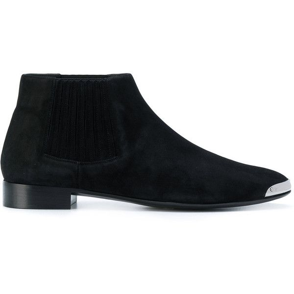 Giuseppe Zanotti Design toe cap boots (€855) ❤ liked on Polyvore featuring men's fashion, men's shoes, men's boots, black, mens cap toe boots, mens black cap toe boots, mens toe cap boots, mens black cap toe dress shoes and giuseppe zanotti mens shoes