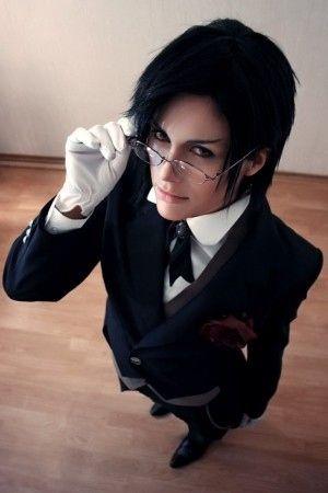 Sebastian Michaelis: Black Butler cosplay - anime