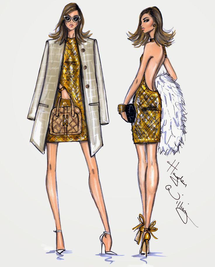 Hayden Williams Fashion Illustrations: 'Day to Night' by Hayden Williams pt2