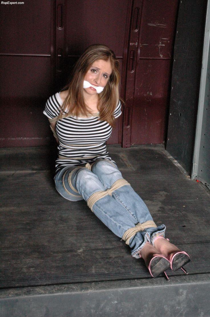 Jeans bound bondage video! sexy