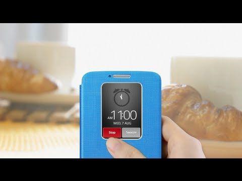 LG G2 Quick Window case - English version