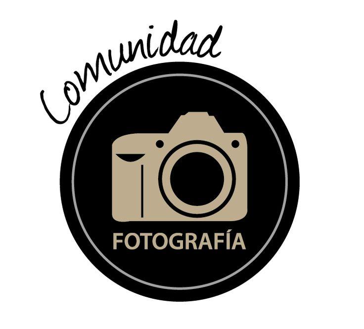Imagen corporativa. Cliente: Comunidad Fotografía. Diseño. Katherine Melgarejo Bahamondes