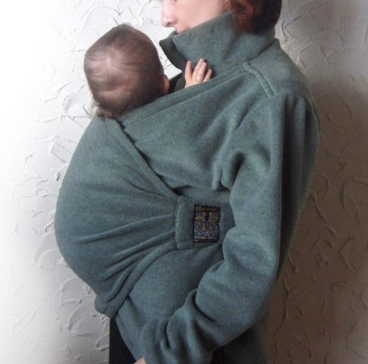 Babywearing Coat. Maternity Coat. Baby Sling.