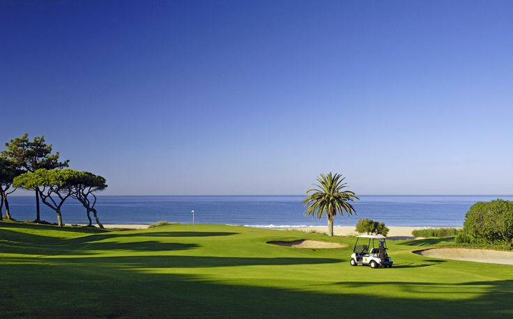 OCEAN GOLF COURSE - Holes : 18. Length : 6131mts. Par : 73.     Features : Breathtaking scenic beauty with the undulating fairways of the golf course running to the shores of the Atlantic Ocean.   Algarve, Portugal
