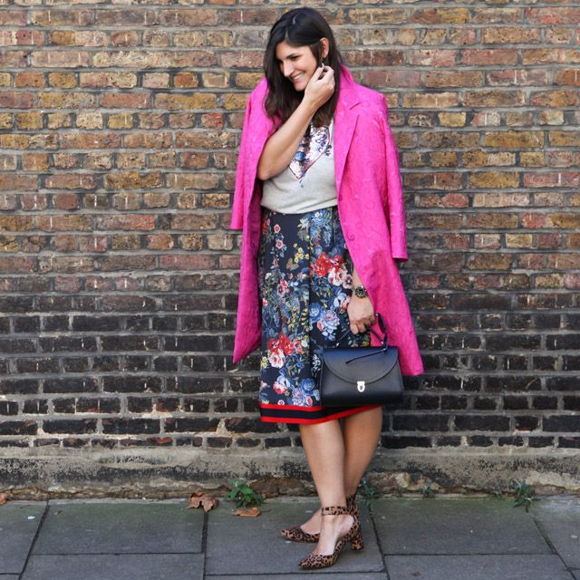 The skirt that might as well be Gucci, but it's really Marks & Spencer!