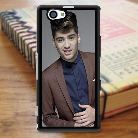 Zayn Malik 1d One Direction Boyband Sony Experia Z3 Case