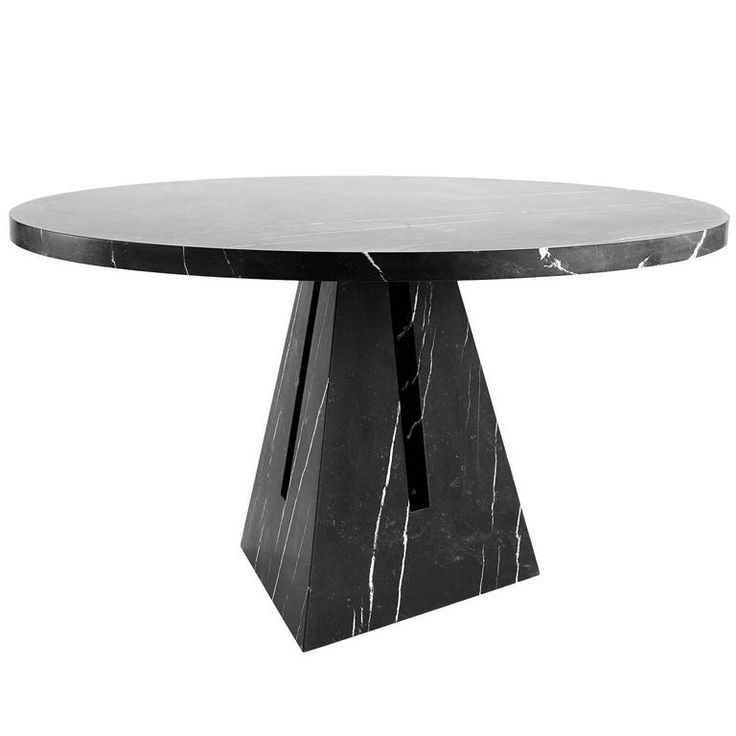 Portal Dining Table In Marble By APPARATUS