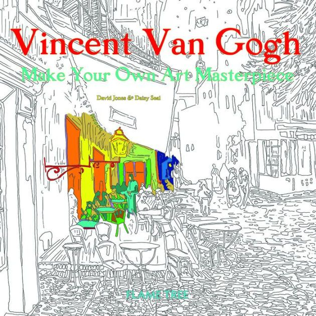 Vincent Van Gogh: Make Your Own Art Masterpiece|Paperback Vincent Van  Gogh Art, Vincent Van Gogh, Van Gogh Art