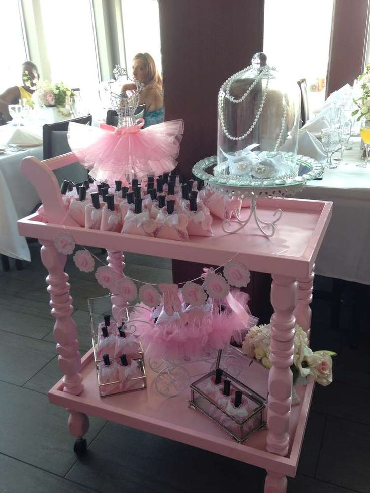 Ballerina baby shower party ideas baby shower party for Dekoration fur babyparty