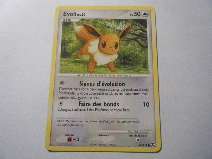 Evoli NIV 10 50PV 59 111 Pokemon Platine Rivaux Emergeants   eBay