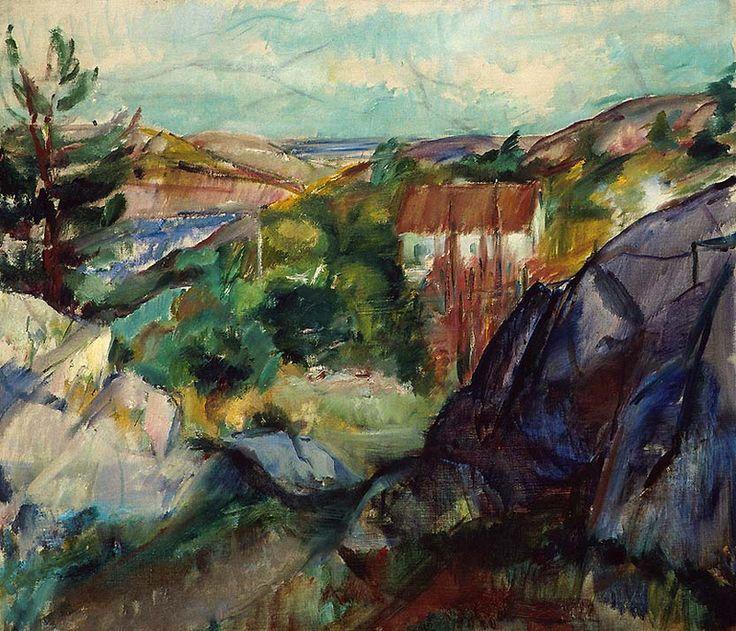 (1920). Olje på lerret