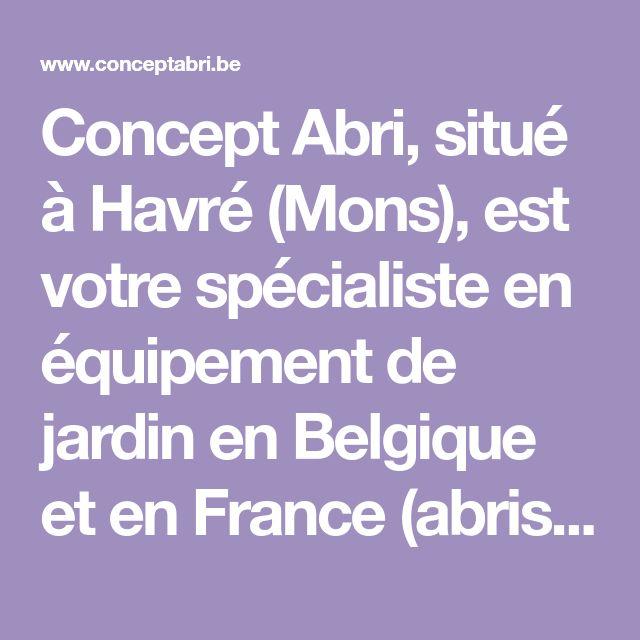 Concept Abri, situé à Havré (Mons), est votre spécialiste en - logiciel de plan de maison gratuit