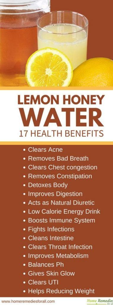 Health Benefits of Honey Lemon Drink