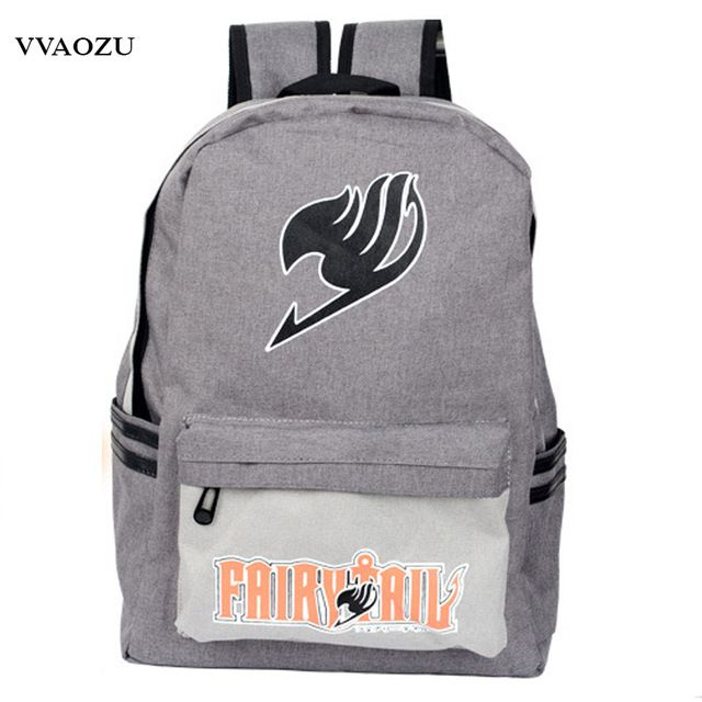 Fair price Japan Anime Harajuku Backpack Mochila Escolar Fairy Tail School Bag for Teenagers Canvas Travel Bags Backpacks Rucksack just only $18.25 with free shipping worldwide  #backpacksformen Plese click on picture to see our special price for you