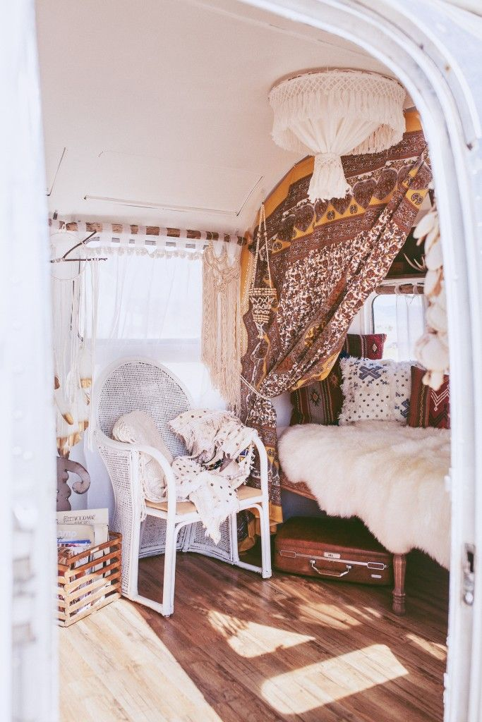 Flo the Airstream – Ready Gypset Go / Gold Painted Spirit Dream Circle by Torchlight Jewelry #dreamcathcer