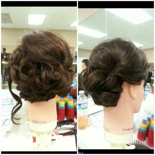 My first mannequin updo