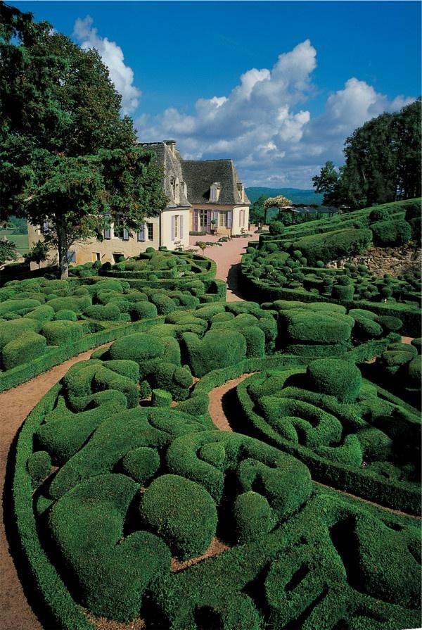 Jardins de Marqueyssac, France: Of Marqueyssac, Gardens, Formal Gardens, Gardening, France, Castle, Beautiful Gardens, Place