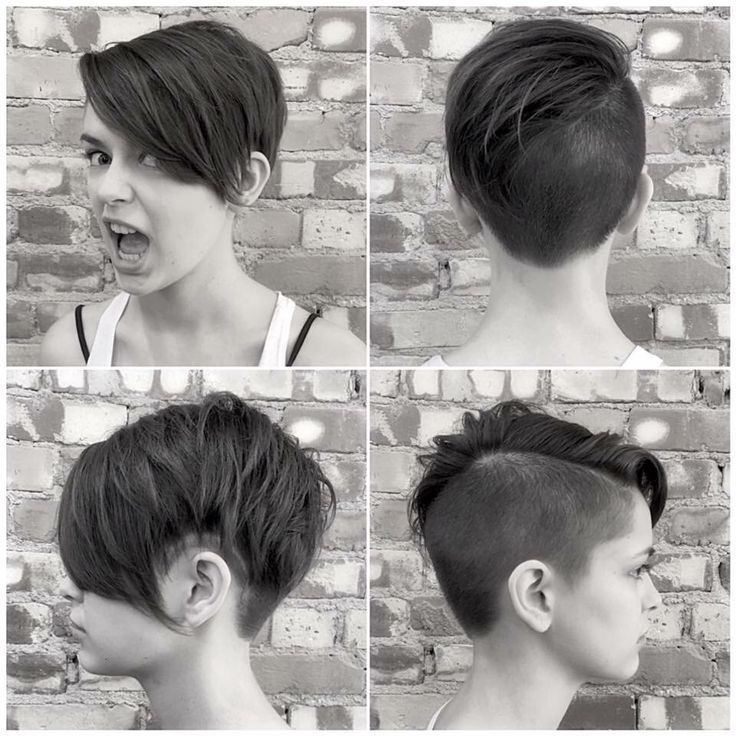 This is my recent haircut. Pixie-ish, disconnected undercut.