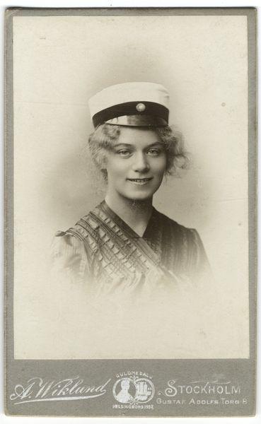 Margareta Beckius, 1886-1912, photo: Anders Wiklund, [UPPSALA UNIVERSITY LIBRARY, BILD:8594]