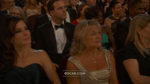 And Leo's face was priceless. | See more about sandra bullock, leonardo dicaprio and leo.