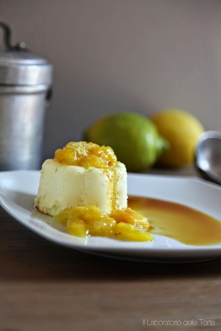 Bavarese al limone con pesche | Il Laboratorio delle Torte