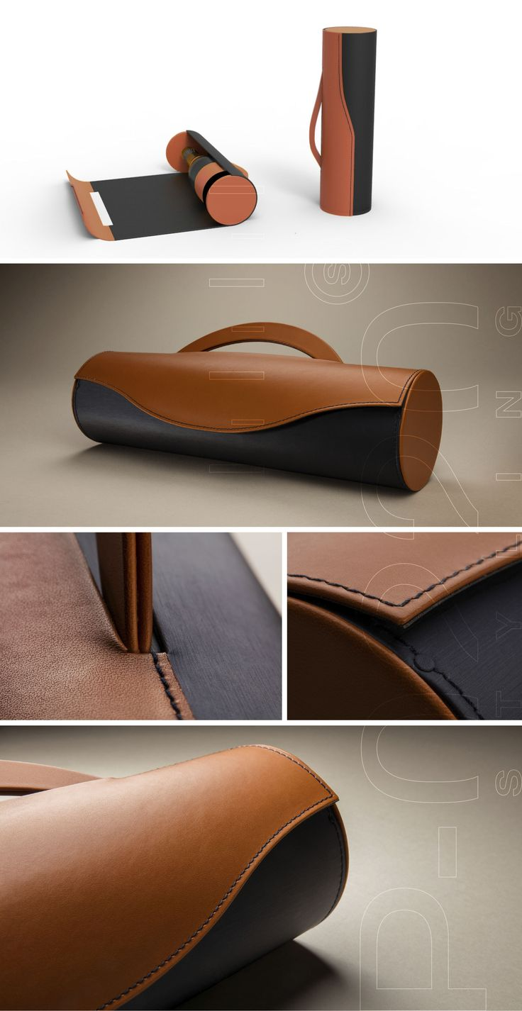 Écrin Champagne / Champagne Box designed by Pozzo di Borgo Styling, Valentine Lang. Fabriqué par / Made by Gainerie Moderne.