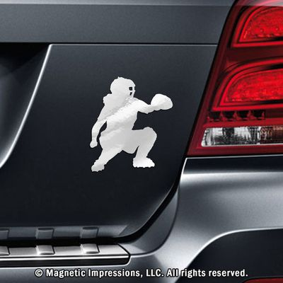 Softball Catcher Car Magnet is the perfect gift for catchers! She can show off…