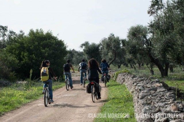 An alternative way to experience Salento is by bike.
