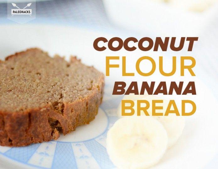 Coconut-Flour-Banana-Bread Paleo not whole30