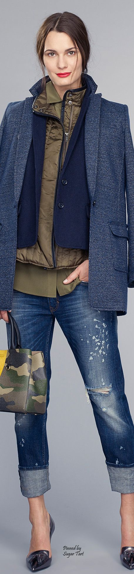 Banana Republic Fall 2015 | Smart Casual | Street Style |www.designerclothingfans.com