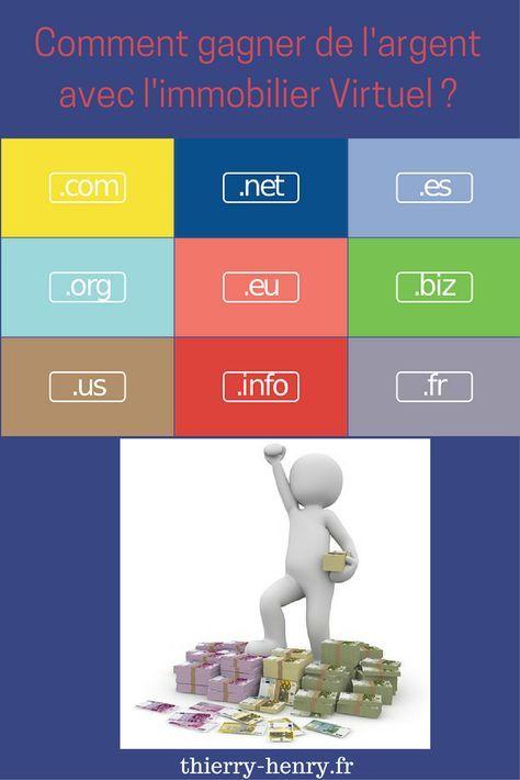 Comment gagner de l'argent avec l'immobilier virtuel ? #nomdedomaine #www #investir #argent #;com